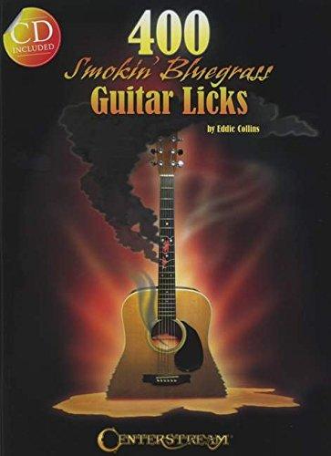 400 Smokin' Bluegrass Guitar Licks: Noten, CD für Gitarre