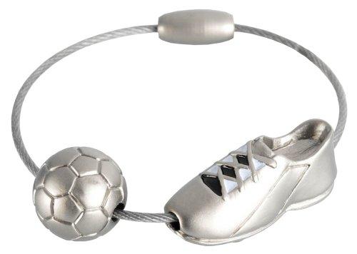 Schlüsselanhänger, Fussballschuh und Fussball