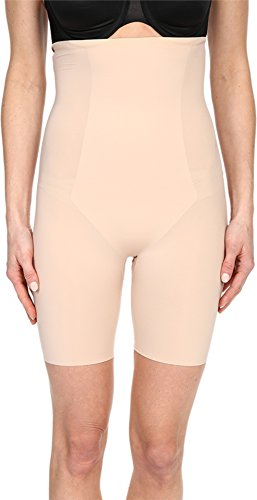 Spanx Women's Thinstincts High-Waisted Mid-Thigh Short, Soft Nude, MD
