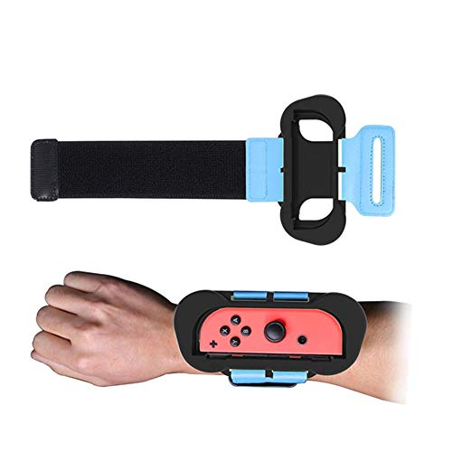 Millster 2pcs Dance Band Armband - Für Just Dance 2020/2019 Armband für Switch Joy Con Controller, FASTSNAIL Wrist Band Straps Armbinde Gurte Tanzgriff Grips für Just Dance 2020/2019 Switch