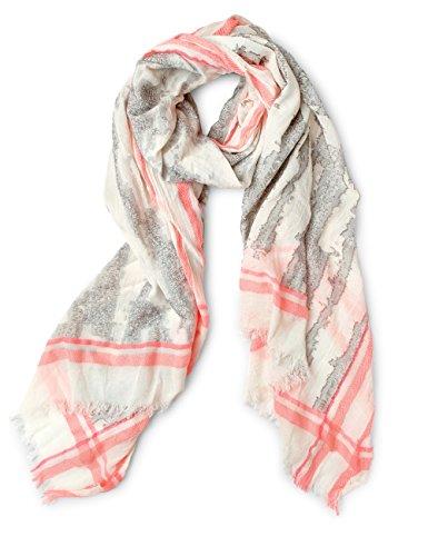 Street One dames sjaal 570586, meerkleurig (Off White 30108), één maat (maat fabrikant: A)