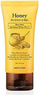 PAPA RECIPE Bombee Honey Moist Sun Essence (50ml) SPF50+/PA+++ Made in Korea