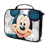 Mickey Mouse viaje maquillaje bolsa portátil viaje maquillaje organizador multifunción casos artículos de tocador para las mujeres