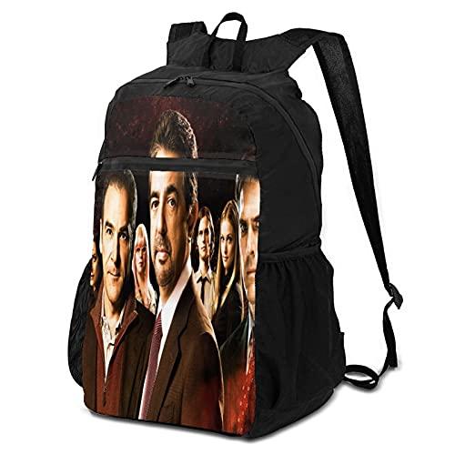 Paquete de almacenamiento de la mente criminal para hombres y mujeres ultraligeras mochilas plegables, camping, bicicletas al aire libre, mochilas escolares plegables