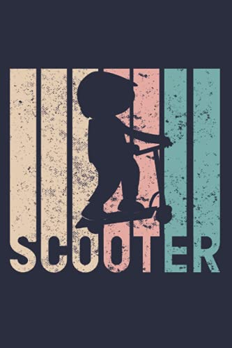 Scooter: Vintage Scooter Notebook Perfect For The Scooter Rider | Lined Notebook Journal ToDo Exercise Book or Diary 6 x 9 (15.24 x 22.86 cm) with 120 pages