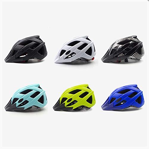 linfei Casco De Bicicleta Trail XC Casco De Ciclismo In-Mold MTB Bike...