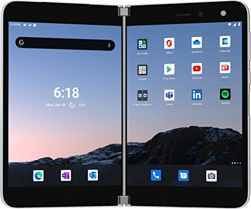 Microsoft Surface Duo 256GB (Unlocked) - Glacier