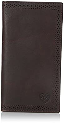 Ariat Ariat Shield Perforated Edge Rodeo Wallet Wallet Dark Copper One Size