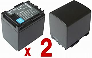 【バッテリー 2個セット】 Canon BP-819 / BP-819D 互換バッテリー iVIS HF G20 M41 M43 HF11 HF21 S10 S11 S21 等対応