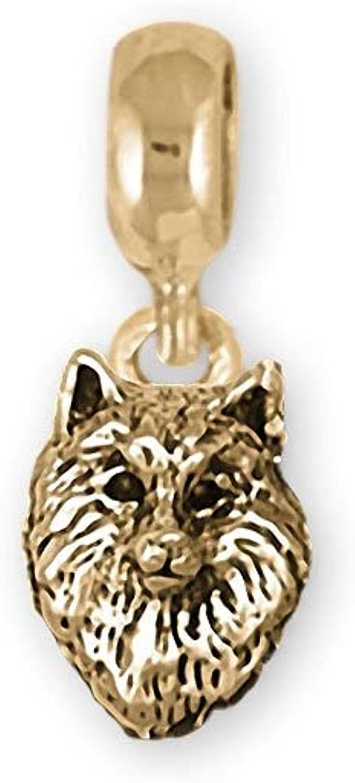 Samoyed Max 43% OFF Jewelry 14k Yellow Some reservation Bracelet Gold Handmade Slide