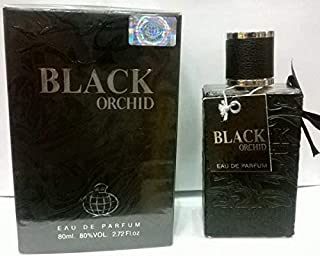 Black Orchid by Fragrance World for Men - Eau de Parfum, 80ml