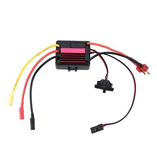 sharprepublic 1/18 1/16 Brushless Impermeable 35A ESC Controlador De Velocidad Eléctrica para...