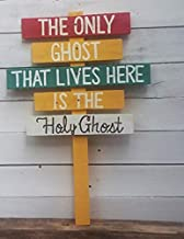 holy ghost halloween sign