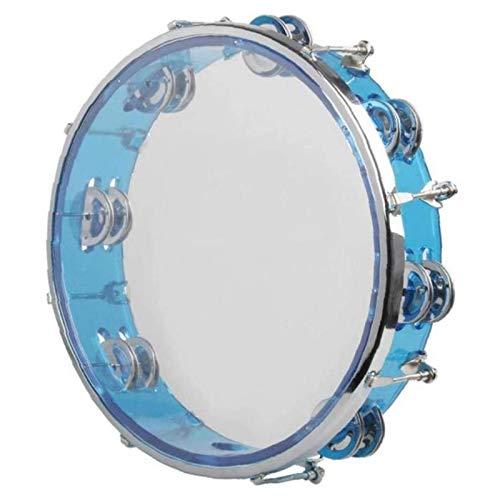 Huante - Tambor de mano con regulación automática con instrumento de percusión de doble fila para niños, adultos, regalo KTV Party