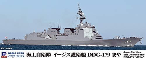 ピットロード 1/700 スカイウェーブシリーズ 海上自衛隊 イージス護衛艦 DDG-179 まや プラモデル J89