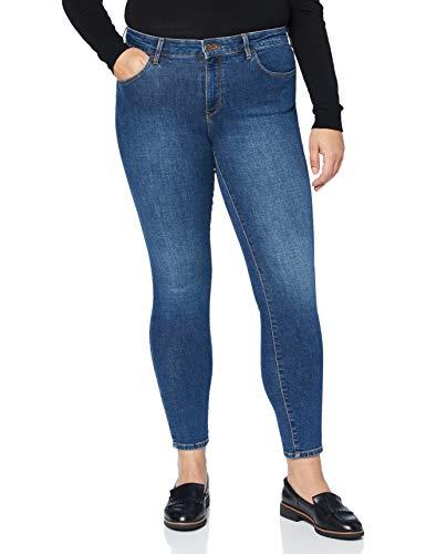 Wrangler Damen Skinny Jeans, Blue You, 28W / 30L
