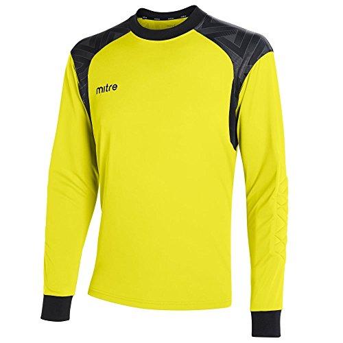 Mitre Guard Goalkeeper Camiseta de Fútbol, Unisex niños, Amarillo, S
