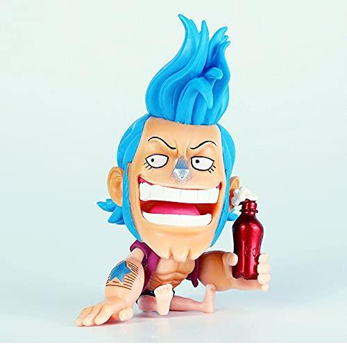 Futurao One Piec Franky Boatman Coke Figura Anime Personaje De Dibujos Animados Muñecas Modelo Estatua Juguete Decoración De Escritorio Fans Colecciones Regalos