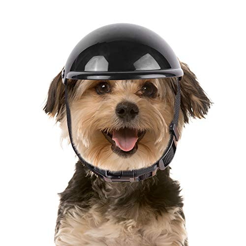 Dog Helmet, Super Mini Dog Hats Puppy Helmet Cat Hat Pet Toy Protect Head Sunproof Rainproof for Small Medium Dog