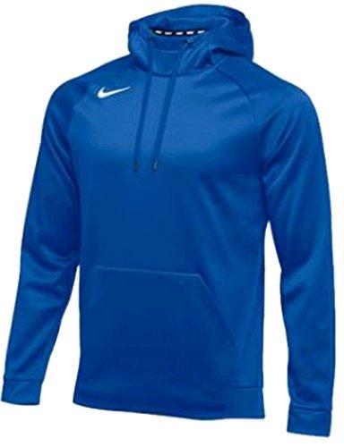 Nike Men#039s Thermal Hoody Royal/White Size Medium