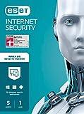 ESET Multi-Device Internet Security 2021 | 5 Geräte | 1 Jahr | Windows (10, 8, 7 und Vista), macOS, Linux und Android | Download