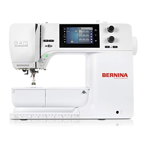 Bernina 475 Quilters Edition Sewing Machine 4 Series