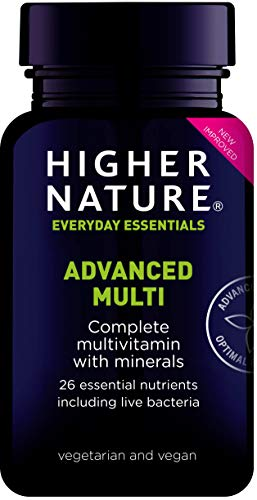 Higher Nature Advanced Nutrition Complex - 180 Tabletten