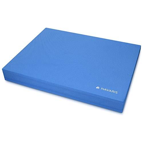Navaris Balance Board Pad Balancekissen - 50 x 39 x 6,5 cm TPE Schaumstoff Matte - Balance Trainer für Physio Sport Gymnastik Yoga