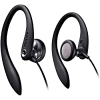 Philips SHS3300BK/10 - Auriculares deportivos, color negro