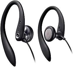 professional Philips SHS3300BK Headphones 27mm Headphones / Hook Open Back 1