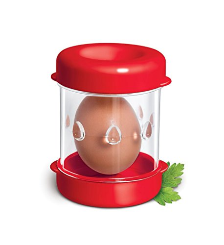 The Negg Boiled Egg Peeler - Red
