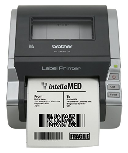 Brother Network Ready 4' Wide Label Printer (QL-1060N)