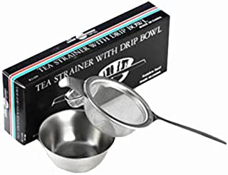 Stainless Steel Tea Strainer with Drip Cup