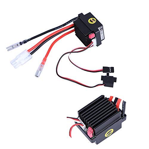 CVERY 320 A gebürsteter Motor, 6–12 V gebürsteter ESC elektrischer Drehzahlregler für RC Auto Boot Modell Zubehörteile