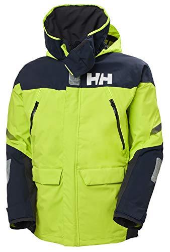 Helly Hansen Chaqueta para hombre Skagen Offshore, Hombre, Chaqueta, 33907, verde, small