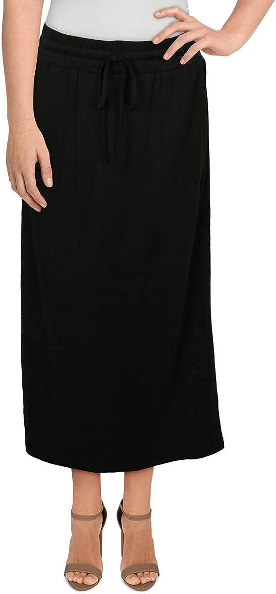 The Good Jane Womens Franco Modal A-Line Midi Skirt