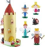 Ben & Holly - Juego de 5 figuras y castillo de cardo