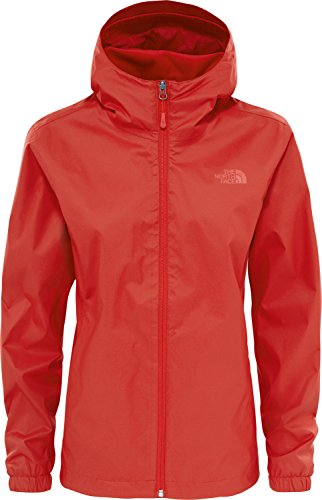 The North Face W Quest Jkt, Giacca Donna, Rosso (High Risk Red), XS