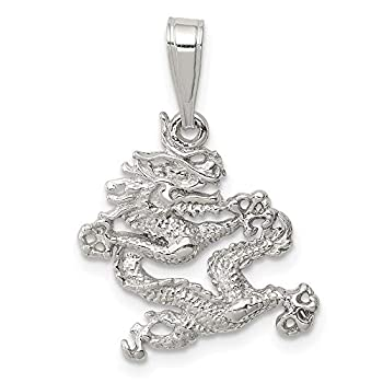 925 Sterling Silver Dragon Pendant Charm Necklace Skull Dagger Fine Jewelry For Women Gifts For Her