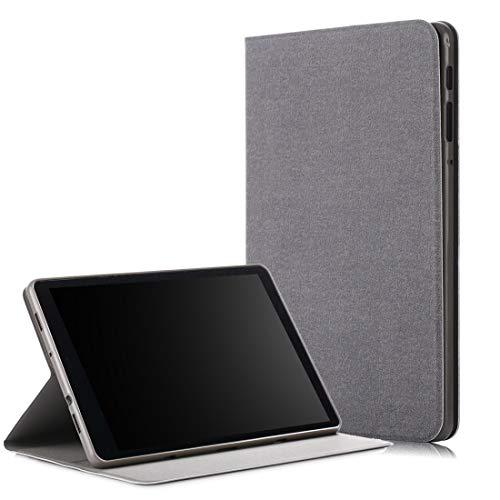 MDYHMC YXCY AYD para Samsung Galaxy Tab A 10.5 T590 / T595 / T597 Estuche de Cuero Horizontal eléctrico con Soporte (Color : Grey)