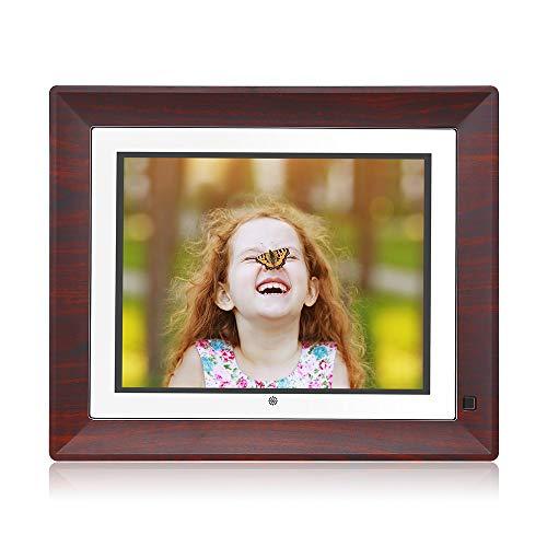 BSIMB Digital Picture Frame Digital Photo Frame 9 Inch IPS Display 1067x800(4:3) Hi-Res Digital Photo & HD Video Frame with Motion Sensor USB/SD Card Playback Calendar Remote Control M09(None WiFi) 100 Digital Picture Frames