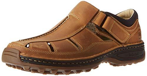 Timberland Men's Altamont Fisherman Sandal,Light Brown,10 W US