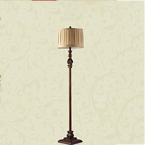 CLJ-LJ Led Kreative Stehlampe, Harz-Tuch 152 * 36cm amerikanische Schlafzimmer Wohnzimmer Study Lampe Retro Nordic Stehlampen, Nacht Eye-Pflege Vertikal-Fußboden-Licht