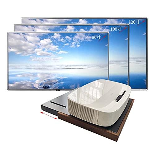 WZY Soporte de extensión para proyector TV Mesa telescópica Soporte para proyector Cabina automática proyector de Tiro Ultra Corto gabinete de TV Base de Bandeja automática