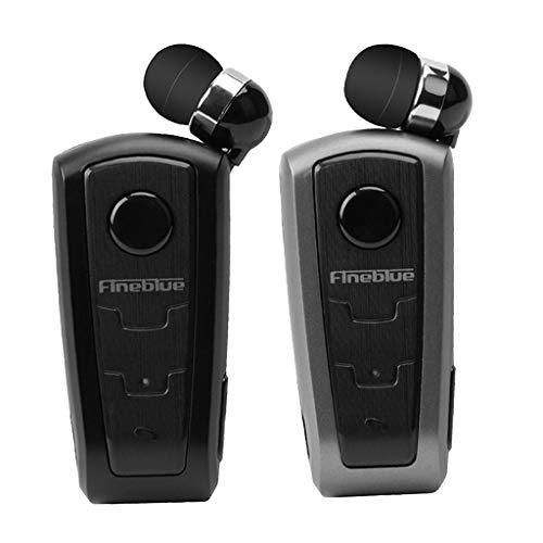 Blesiya 2 X Auricolari Bluetooth Auricolari Auricolari per Cuffie con Clip da Collare