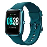 Smart Watch, YONMIG Fitness Tracker IP68 Waterproof Men Women Color Full Touch Screen Fitness Watch Bluetooth Smartwatch with Heart Rate/Sleep Monitor Pedometer SMS Notification for iOS Android