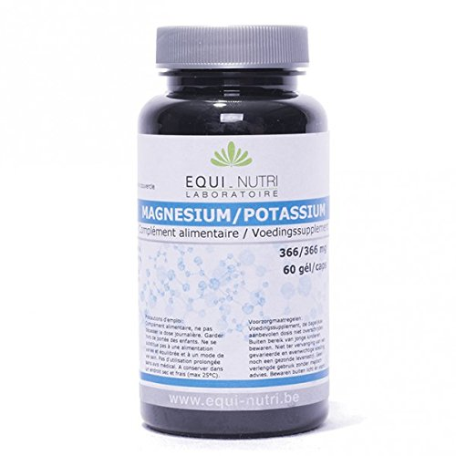 Magnesium potassium - 60 gélules