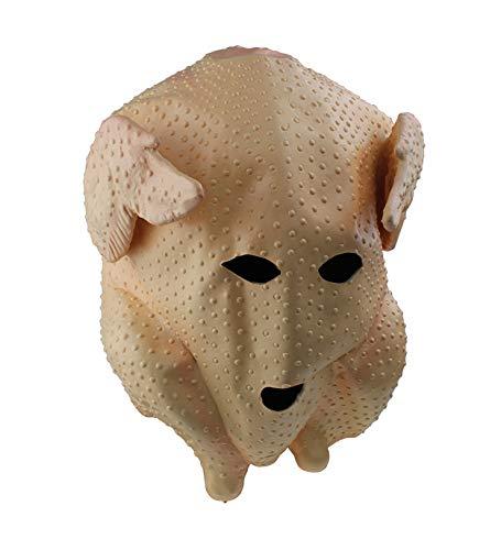 YXBB Maschera Gallo in Lattice Testa di Animale Maschera Costume di Halloween Festa di Ruolo in Costume