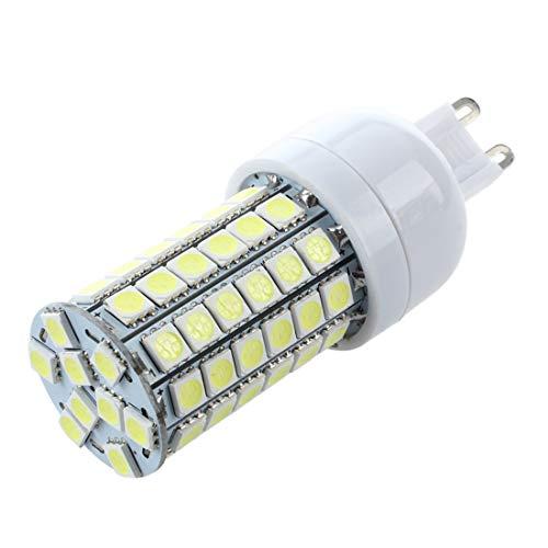 Baalaa G9 8W 69 LED 3528 SMD Lampara Bombilla Foco 6500K Luz Blanco AC 220V