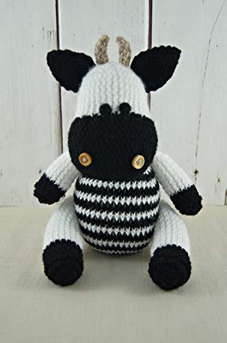 Kuh Stofftier Hand stricken Stofftier Kuscheltiere Baby Shower Geschenk Kinderzimmer Dekor gestrickt Tier Geschenk für Baby Geschenk für Kinder
